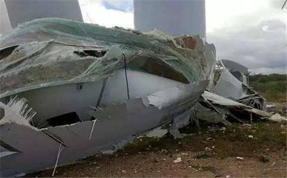 GE发生第五次风机倒塔事故 致一人受伤