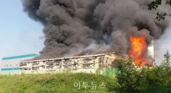 韩国平昌风力发电场储能系统发生火灾