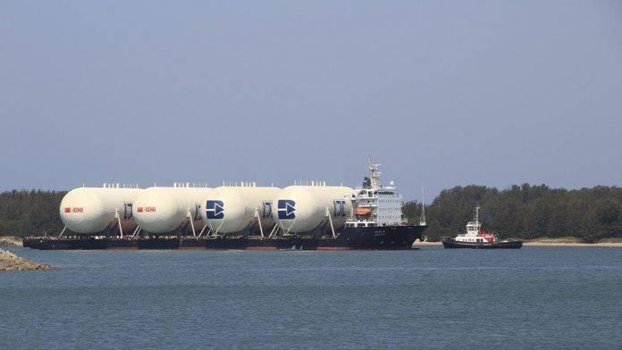 南非理查德湾港口的液化石油气设施建设接近完成