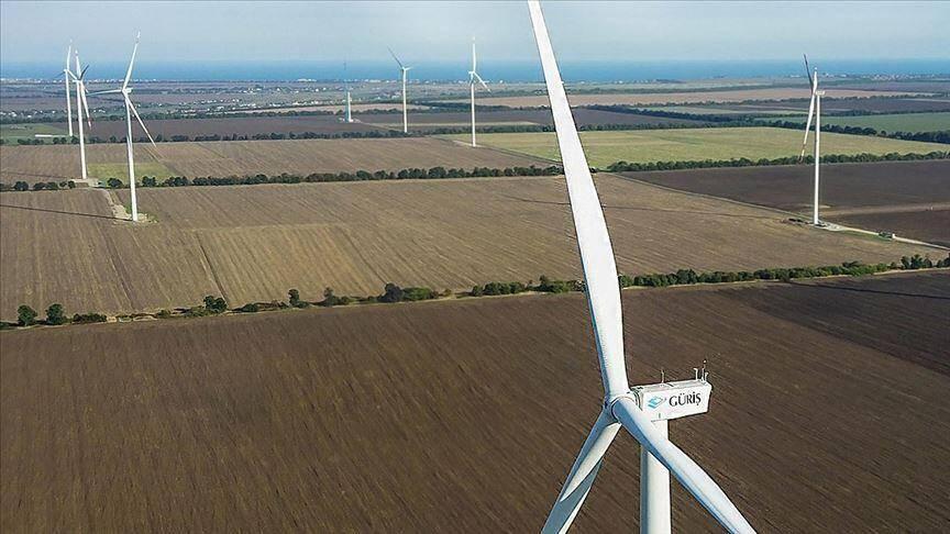 乌克兰Ovid风力发电厂开始运营