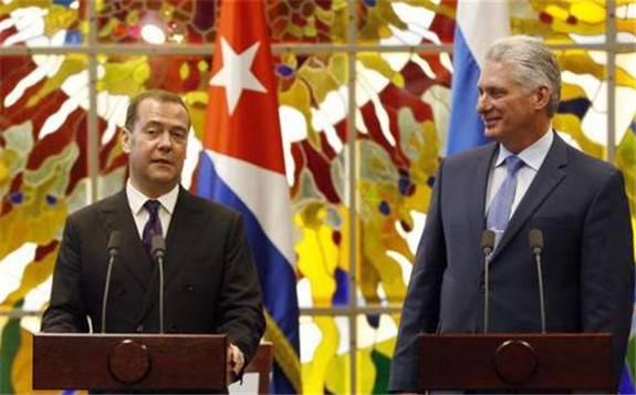 """斥责美国进行""""能源封锁""""俄罗斯要帮古巴发展核能"""