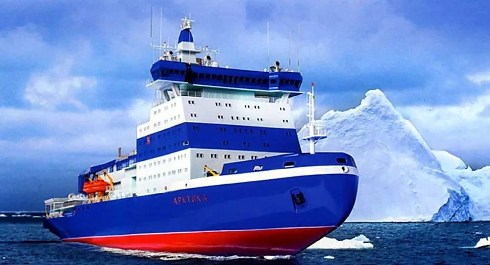 """俄首艘新型通用核动力破冰船""""北极""""号的反应堆装置启动"""