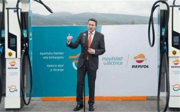 西班牙石油天然气企业Repsol推出了最大充电功率高达400kW的充电桩
