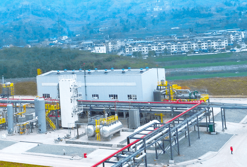 内首例天然气掺氢示范项目第一阶段工程圆满完工