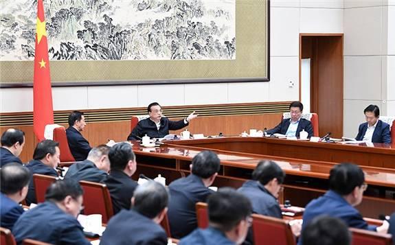 李总理主持召开国家能源委员会会议强调  推动能源生产消费转型升级