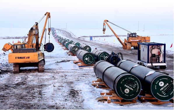 中俄東線天然氣管道北段全線貫通 12月1日正式進氣投產