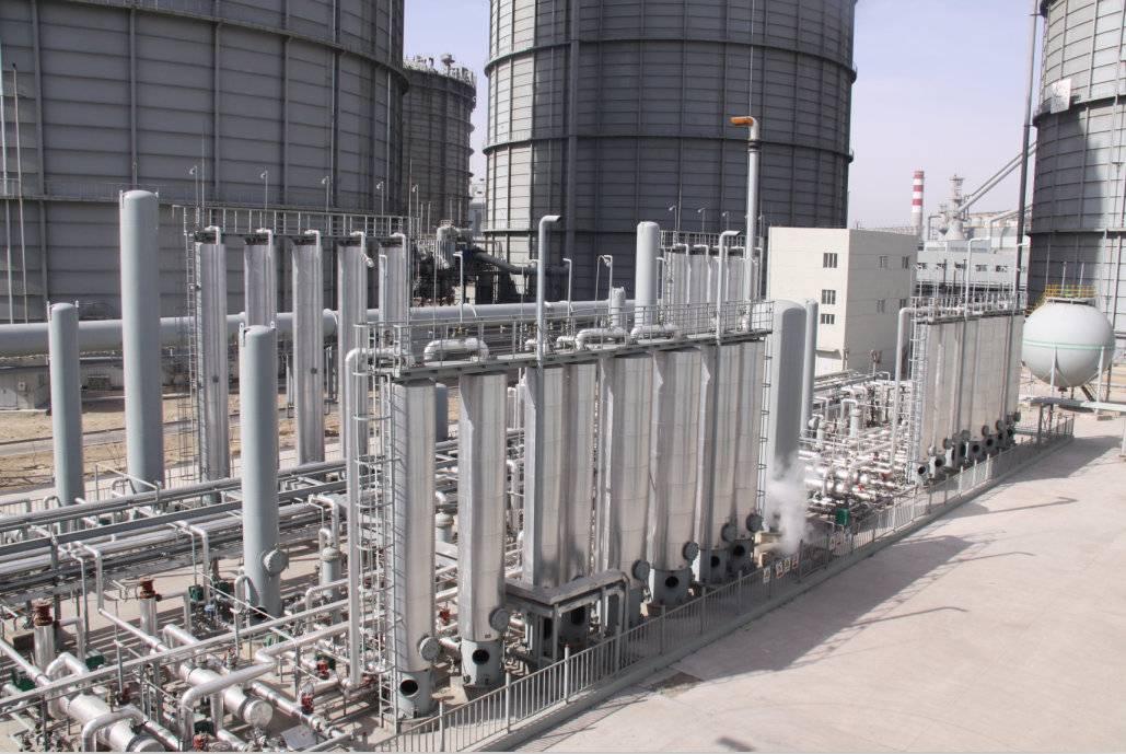 西南院总承包的6000Nm3/h焦炉煤气提氢装置启动