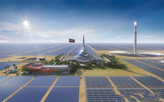 迪拜900MW太陽能電站招標價格跌至歷史最低水平