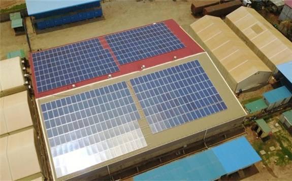 德国企业Cronimet在纳米比亚购物中心屋顶上安装1.13 MW光伏项目