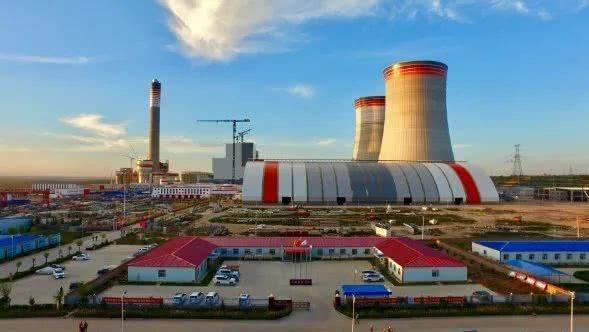 陕西首个自主建设的大型煤电一体化外送项目顺利竣工