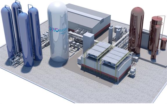英國計劃部署首個50MW/250MWh大規模商業化液態空氣儲能系統
