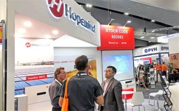 禾望攜組串式逆變器系列展品參展 首次登入澳大利亞全能源展盛會