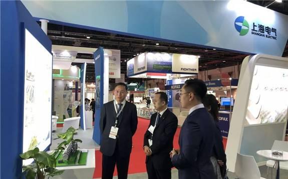上海电气与DEWA和ACWA就迪拜950MW光热光伏混合项目实行情况进行深入交流