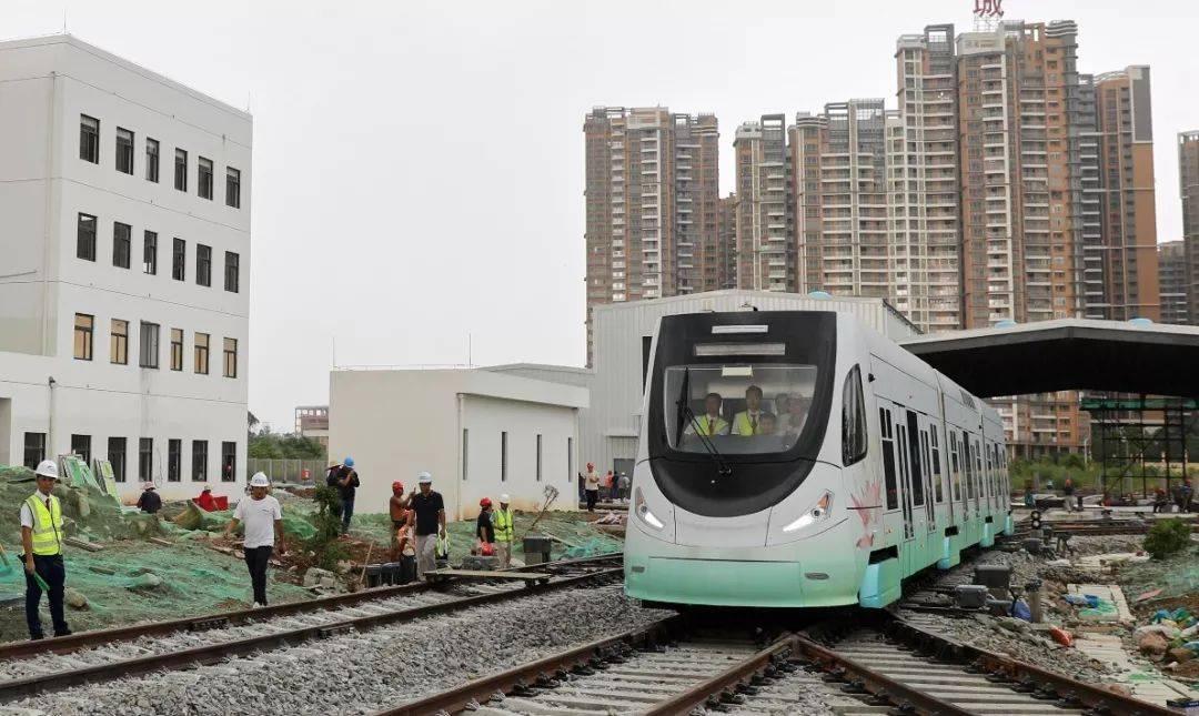 高明有軌電車將于本周五試運行,系國內首條氫能軌道商用線路