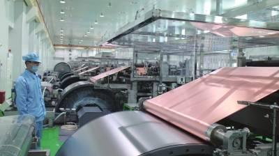 甘肃德福电解铜箔项目一期投产