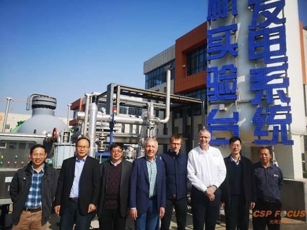 澳大利亚太阳能研究所、昆士兰大学专家前往中科院就超临界二氧化碳布雷顿循环发电技术开展学术交流