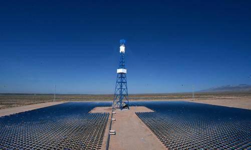 青海50兆瓦塔式熔盐太阳能热发电项目正式投产