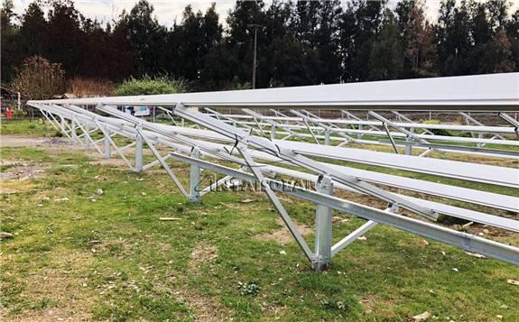 福建安泰为巴西地面电站项目提供全套铝支架解决方案