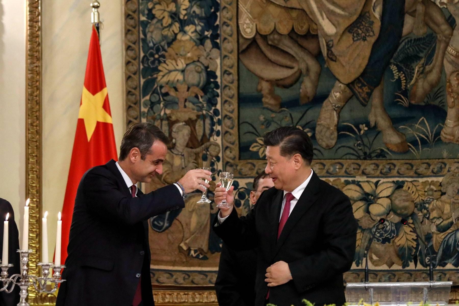 中国国家电网与希腊国家电网企业签署协议