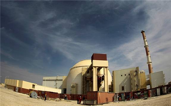 伊朗布什爾核電站二期工程開始澆筑混凝土