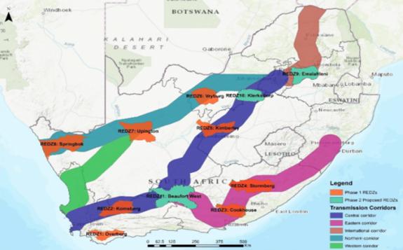 南非设置三个特殊地理区域以快速发展可再生威尼斯项目