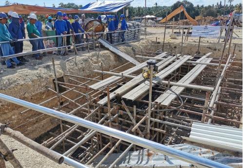 南方电网境外总包菲律宾MVIP±350千伏直流输电项目进入全面施工阶段