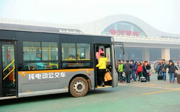 山西臨汾成全國首個純電動公交城市