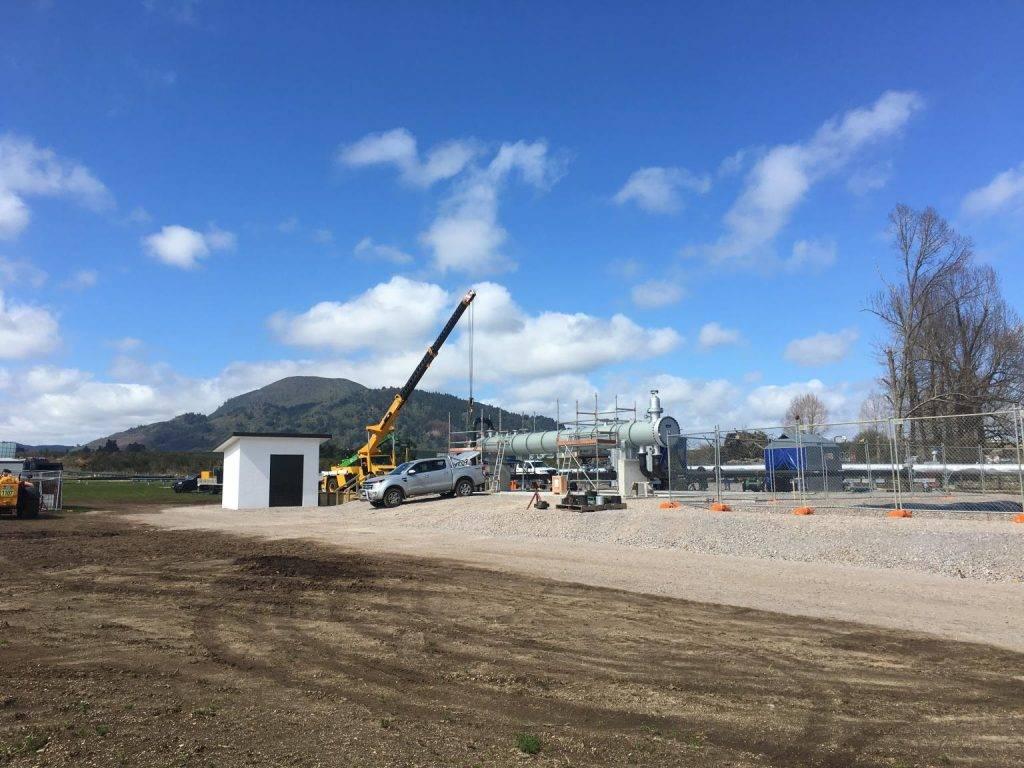 新西兰陶波的木屑颗粒制造厂全新地热系统开始启动