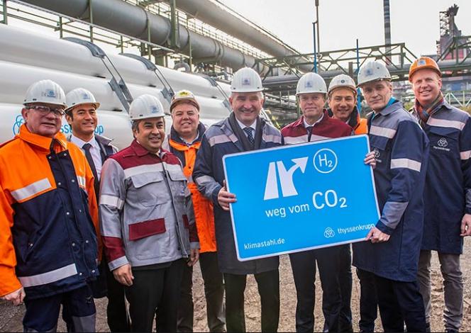 """德國""""以氫(氣)代煤(粉)""""煉鐵項目正式啟動 鋼鐵產業進入一個新時代!"""