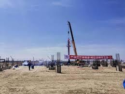 在建最大煤制乙二醇项目空分装置正式开工