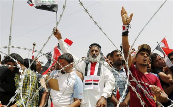 政府巨额石油收入没有改善水电基础设施  伊拉克抗议活动仍将继续!