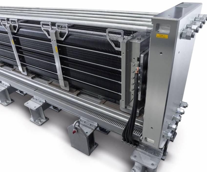 西門子為SZFG提供PEM電解器 標志著向氫氣煉鋼邁出重要一步!