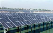 江西高安八景镇100MWP渔光一体光伏发电项目在八景镇灶岗村举行动工仪式
