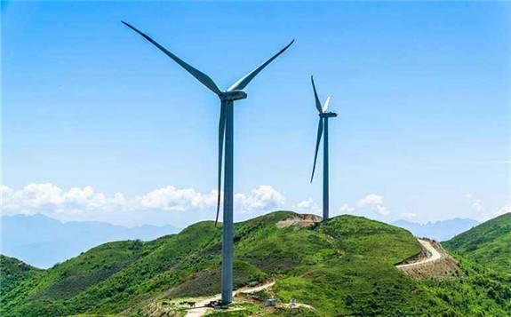龍源電力遼寧雞冠山風電項目完成全部風電機組基礎澆筑