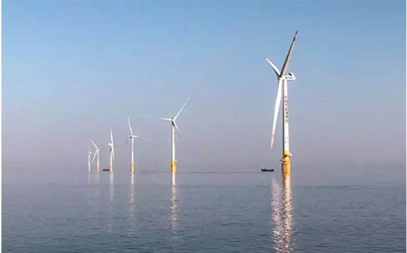 国华首个海上项目远景机组全部并网