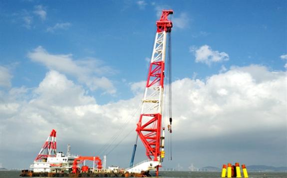 华电集团首个海上风电项目开工