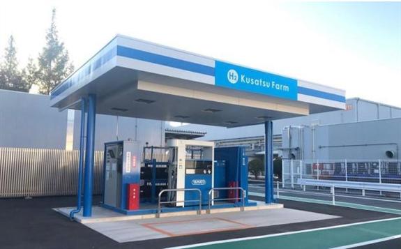 日本松下加氢站正式运营 加氢3分钟