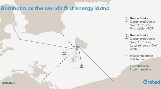 ?rsted計劃以博恩霍爾姆島為樞紐建立5GW海上風電產業群