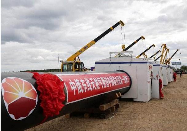 """俄中东线天然气管道""""西伯利亚力量""""将在12月伊始启动对华供气工作"""
