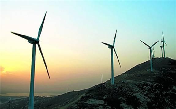 国内首个采用4.5兆瓦风电机组的山地风电项目正式开建