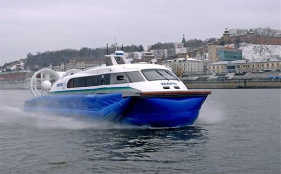 Corvus为全球首艘混合动力气垫船提供能源存储系统