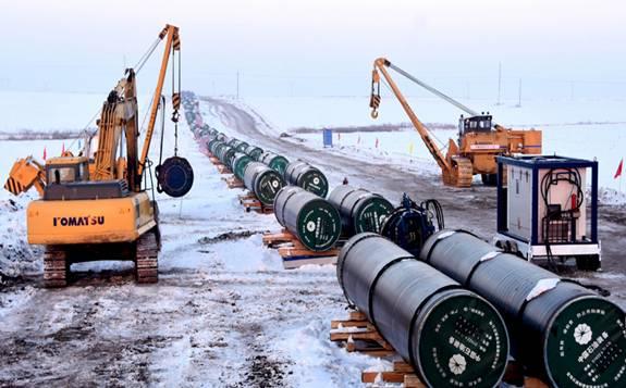 中俄东线天然气管道将成为能源合作的里程碑