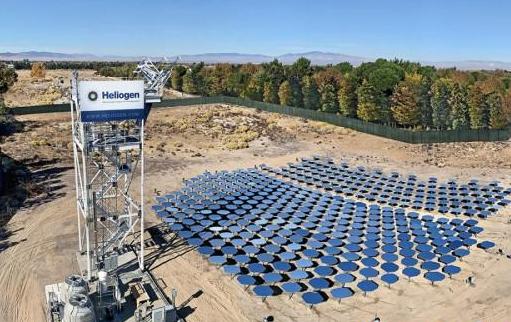 Heliogen清洁能源公司探索利用超1000℃高温太阳能制取氢气