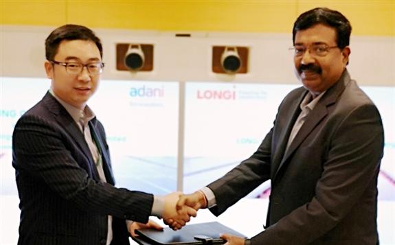隆基與Adani簽訂最高達1.2GW合作協議