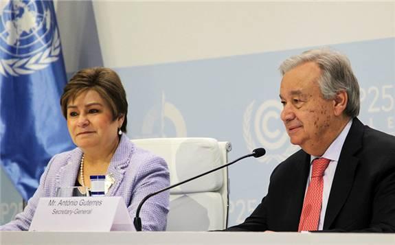 """联合国秘书长呼吁拥抱""""绿色经济"""