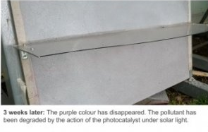 科学家研发新型太阳能催化剂 可吸收空气中污染物