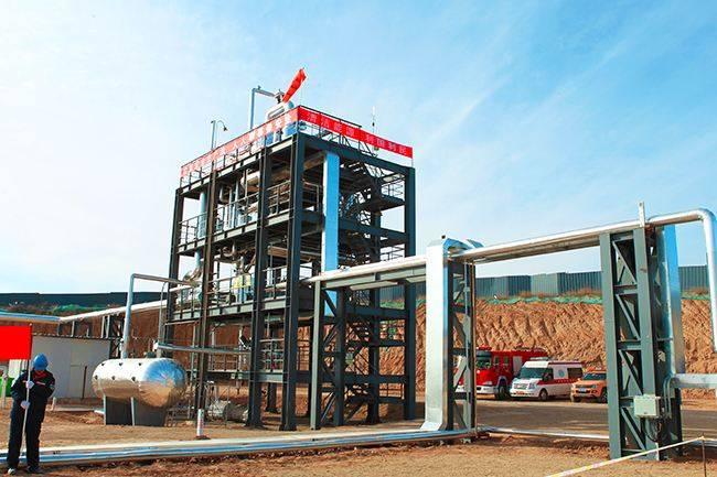 内蒙古煤炭地下气化示范项目投产!投资200亿年产40亿立方合成天然气
