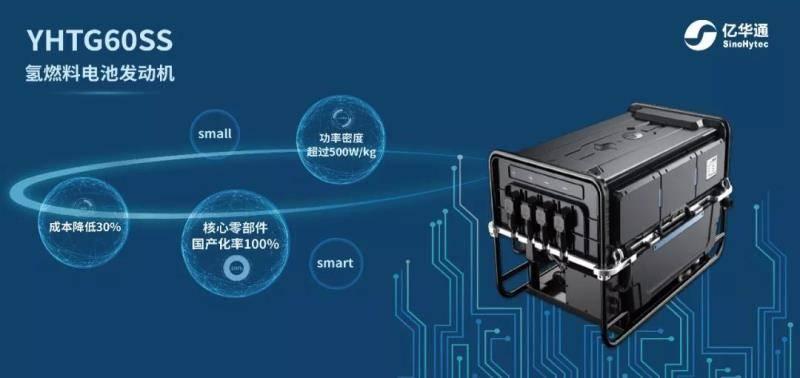 亿华通自主新品YHTG60SS正式首发 开启国产氢燃料电池发动机新时代