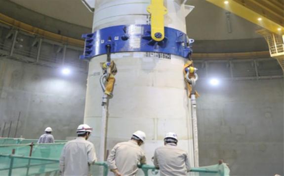 华龙一号海外工程核岛主设备全部引入就位
