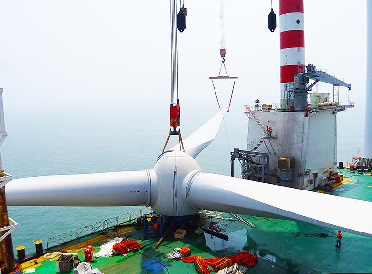 上海电气将为山东千万千瓦级风电市场提供38台G4.0-146海上风电机组